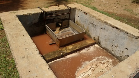 Raw wastewater from slaughterhouse